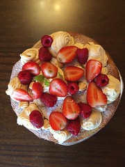 Happy Birthday Elizabeth! Cake by Francesca