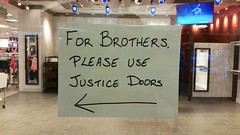 Please Use Justice Doors