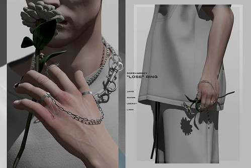 """[Dope+Mercy]""""LOSE"""" Ring @ L'Homme Readers' Group Gift"""
