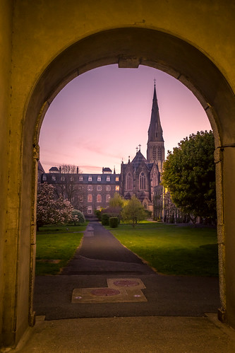 fujifilmxh1 maynooth college cokildare sunset archway