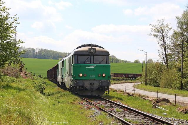 SNCF 67579 + 67494 Ripain 07-05-2021