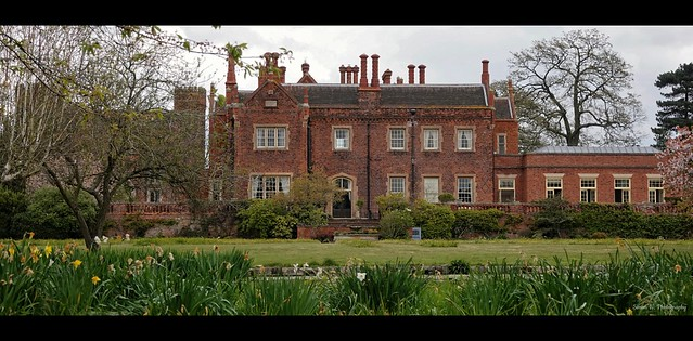 Hodsock Priory. Nottinghamshire. April 2021