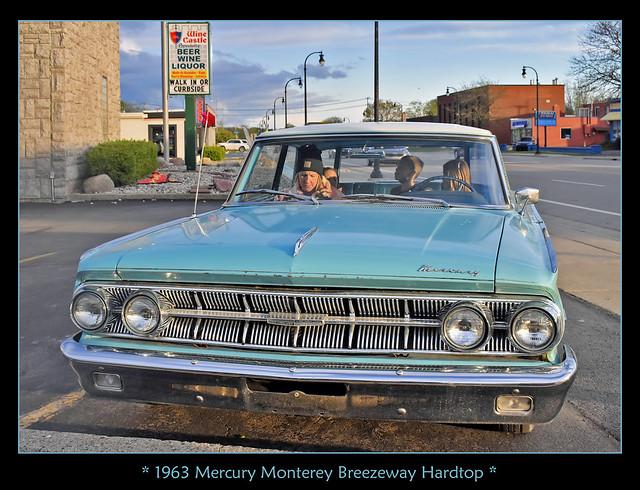1963 Mercury Monterey Breezeway Hardtop