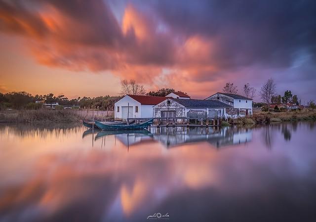 Boathouse, Ria de Aveiro