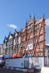 Bury St. Edmunds Post Office Redevelopment - Tower Crane Erection