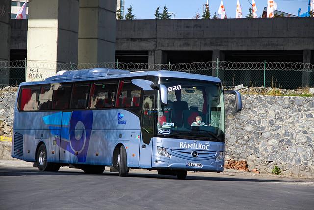 55 SU 051 Kâmil Koç Mercedes Benz New Tourismo M/2 III  İstanbul Turkey