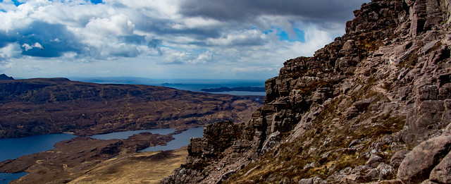 Looking west - Skye just visible and the Summer Isles