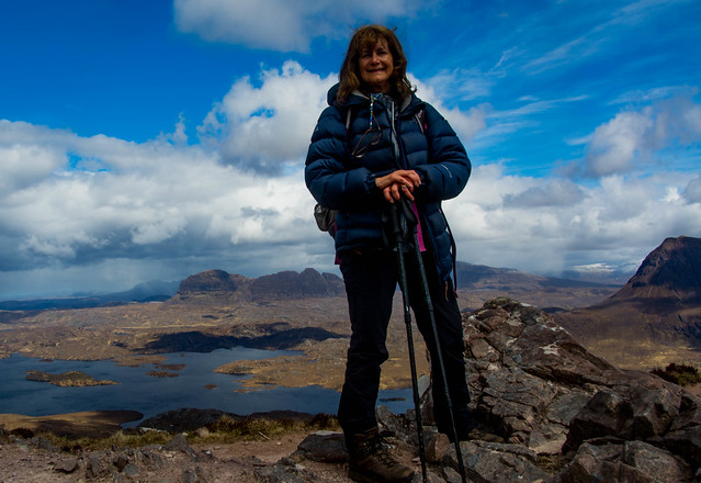 Myself with Suilven behind