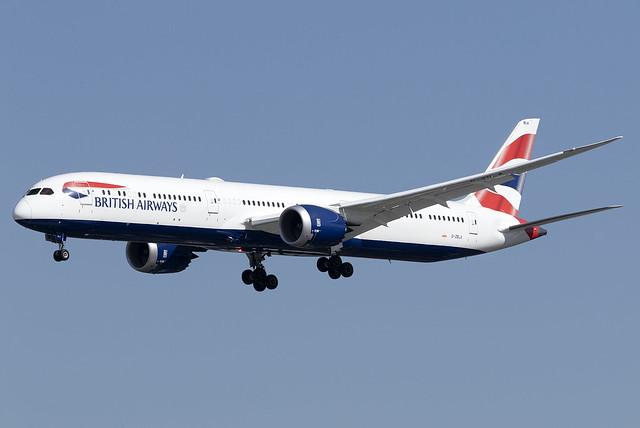 British Airways 787-10 Dreamliner G-ZBLA at Heathrow Airport LHR/EGLL