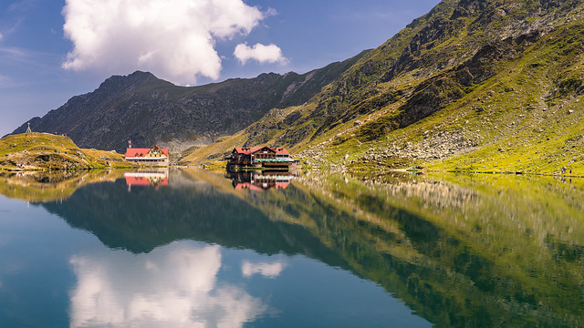 Mountain lake [Explored]