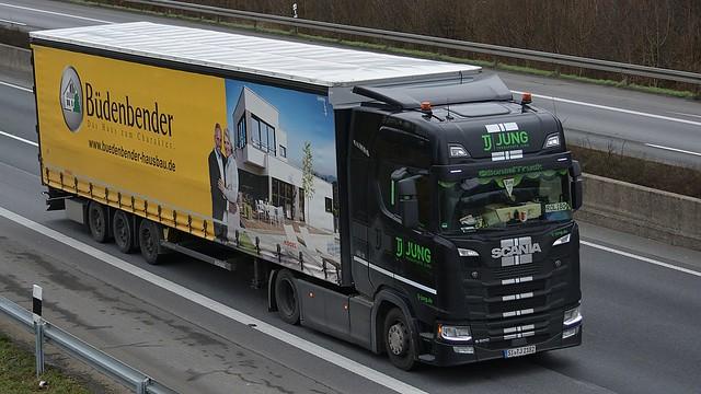 D - TJ Transport Jung >Büdenbender< Scania NG S500