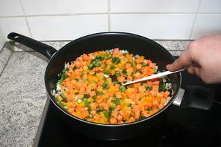 16 - Braise vegetables / Gemüse andünsten