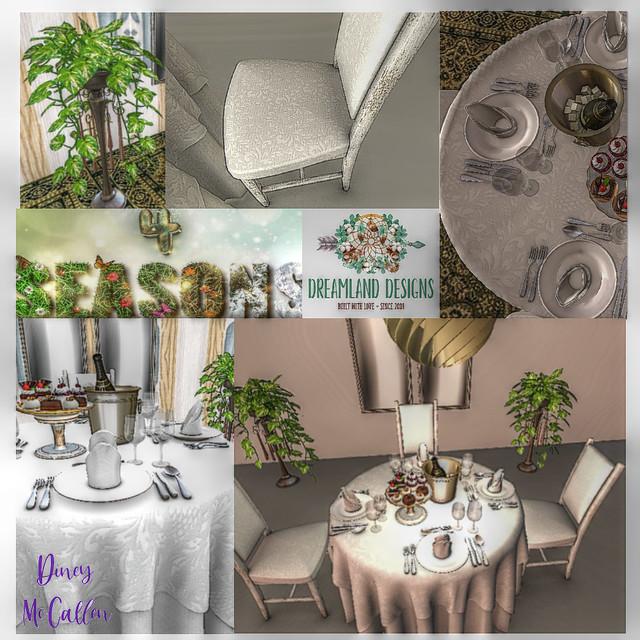 Dreamland Designs Dinning at its best!