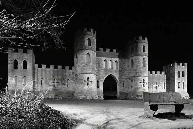Night at Sham Castle