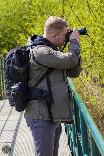 Fotograf bei der Arbeit / Photographer at Work