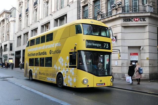 Arriva London - LT525 - LTZ1525 - Bumble