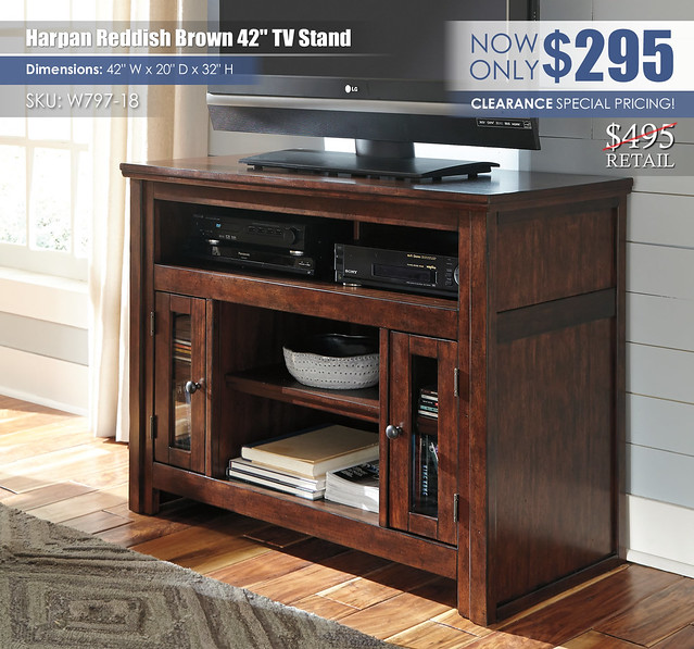 Harpan 42in TV Stand_W797-18