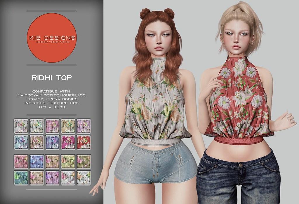 KiB Designs – Ridhi Top @Orsy Event 9th May