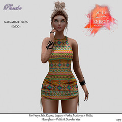 P Naia Mesh Dress ~Indo~ ENERGY WEEKEND