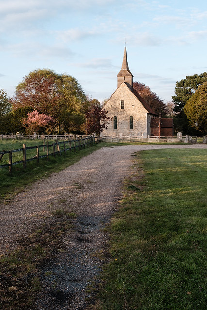 Road leading to the Church of St. Germanus, Faulkbourne