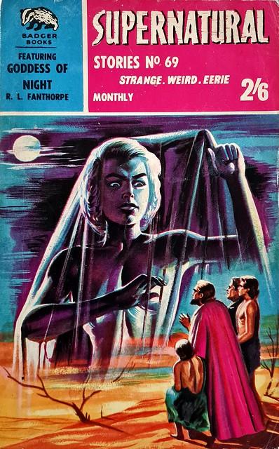 Supernatural Stories - Badger Books # SN 69 - R.L. Fanthorpe - Jan 1963