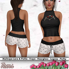 Racerback Tank Top and Tied Shorts - Finna