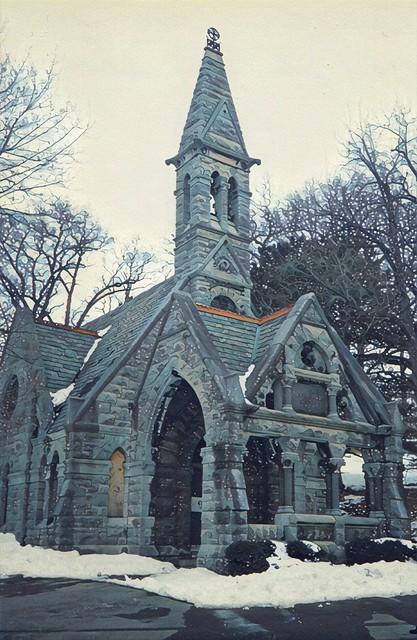 Syracuse  New York - Mortuary Chapel - Architecture - Gothic