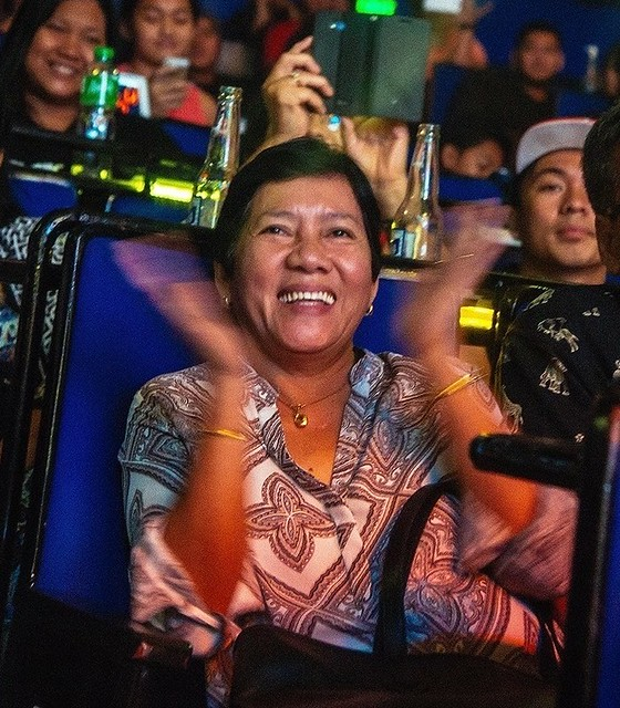 Now the proud mother of a Filipino music icon, Gloc-9's mother Blesilda Pollisco sacrificed as much as she could to give her children a better life
