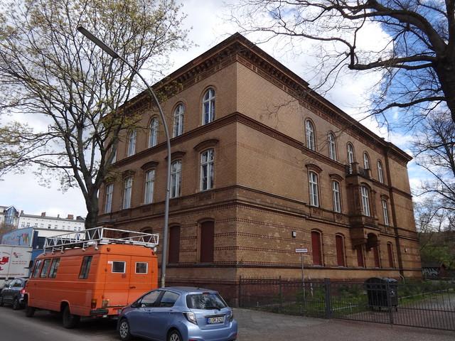 1884/87 Berlin spätklassizistisches Lehrerwohnhaus Lessing-Gymnasium von StBR Hermann Blankenstein Pankstraße 19 in 13357 Gesundbrunnen