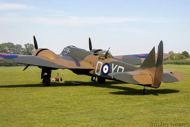 Blenheim I L6739 G-BPIV - The Aircraft Restoration Company