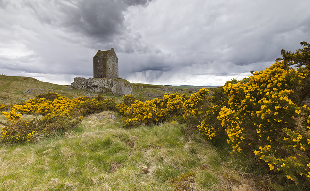 Smailholm Clouds
