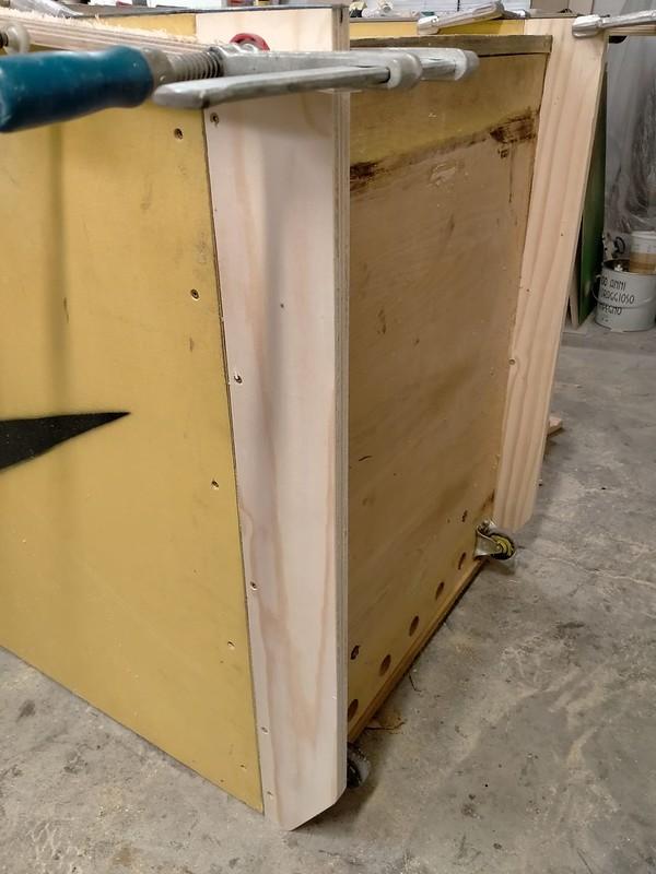 Scramble Cabinet Project: Repair In Process