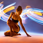 """This is lit by hand, as usual. I used a 3' and 6' whips with colored gels (orange, blue...) <a href=""""https://lightpainting.store/whips"""" rel=""""noreferrer nofollow"""">lightpainting.store/whips</a>"""