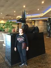Portraits of Las Vegas, Nevada USA : Ada at the Luxor Hotel and Casino