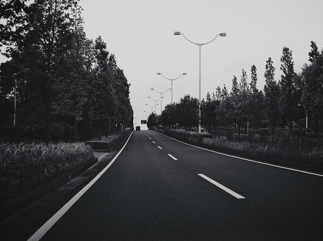 きれいな道路