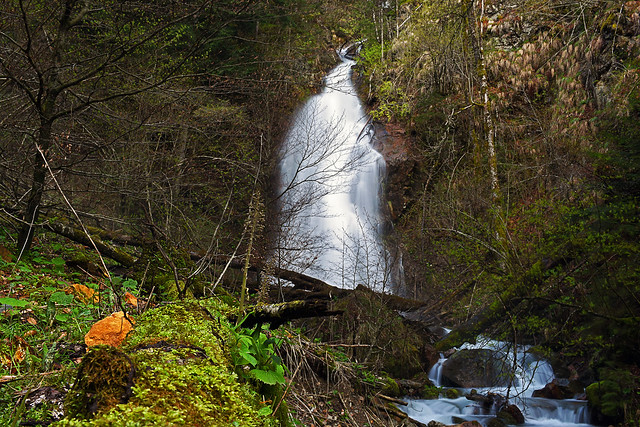 Vobenca waterfall