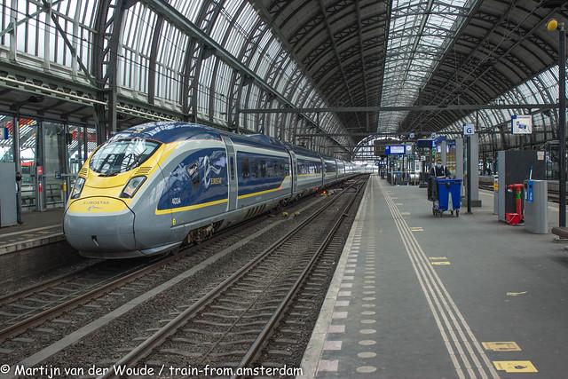 20210327_Amsterdam-Centraal_Eurostar  4034-4033  ready to depart to London St Pancras International