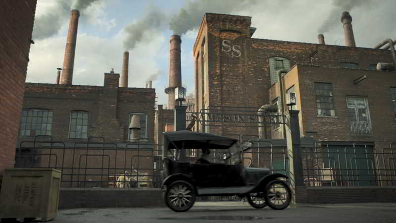 Sampson Steel factory