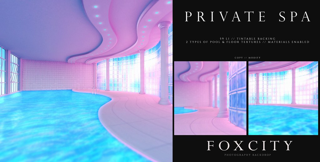 FOXCITY. Photo Booth – Private Spa