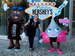Portraits of Las Vegas, Nevada USA : Ada at the Hersheyu2019s Chocolate World