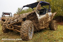 Yamaha YXZ1000R sitting in the pits after making a few passes during the Dirt Digs Cash Days at Scenic Trail Recreation Land @street_race_ohio #offroader #offroadlife #offroadnation #offroadracing #sidebyside #sxs #dirtlife #dirtracing #holeshot #offroadc