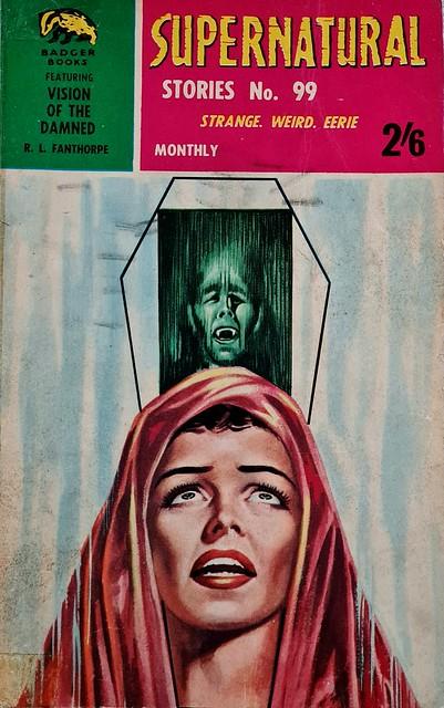 Supernatural Stories - Badger Books # SN 99 - R.L. Fanthorpe - Oct 1965