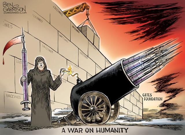 Bill Gates háborúja az emberiség ellen