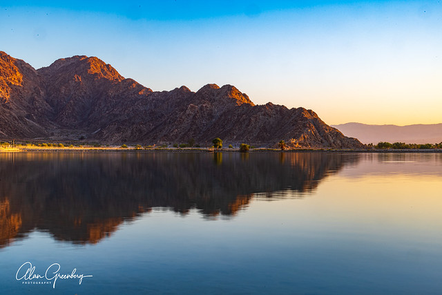 Lake Cahuilla Reflection