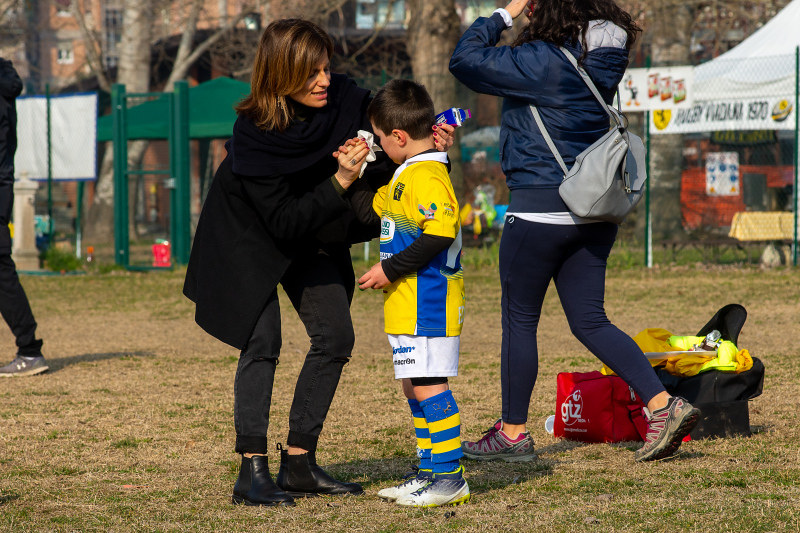 Le mamme della Rugby Parma