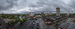 Panoramic series over Salford and Manchester