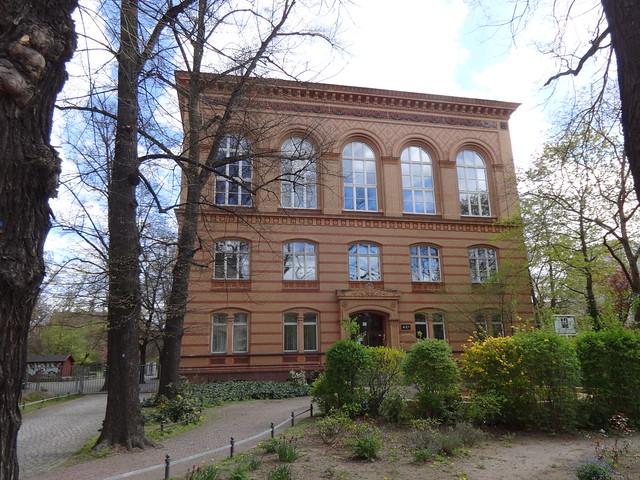 1884/87 Berlin spätklassizistisches Lessing-Gymnasium von StBR Hermann Blankenstein Pankstraße 18 in 13357 Gesundbrunnen