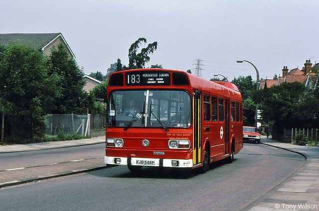 KJD548P London Buses LS48