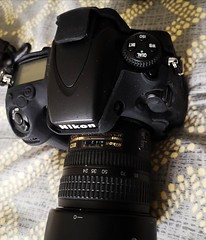 The D800 gets a new lens!