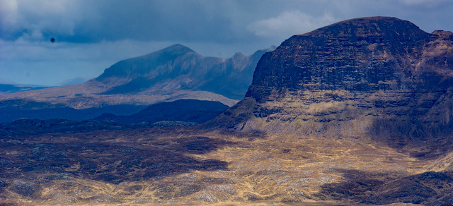 Suilven' Caisteal Liath and Quinag